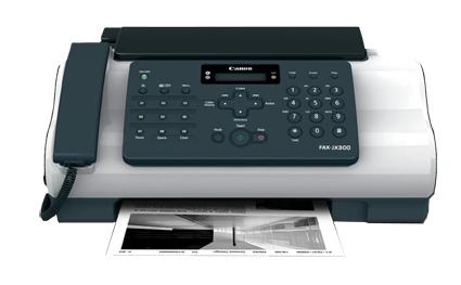 Manual de instrucciones fax canon jx300 fax